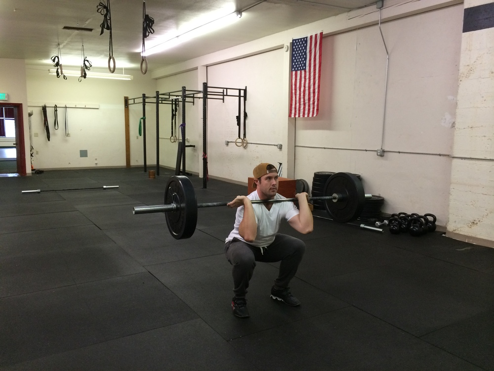 The squat is the most efficient variation of the lift, because you don't have to pull the barbell as high. In the clean, you only really need to pull it to your bellybutton if you can get under deep enough.