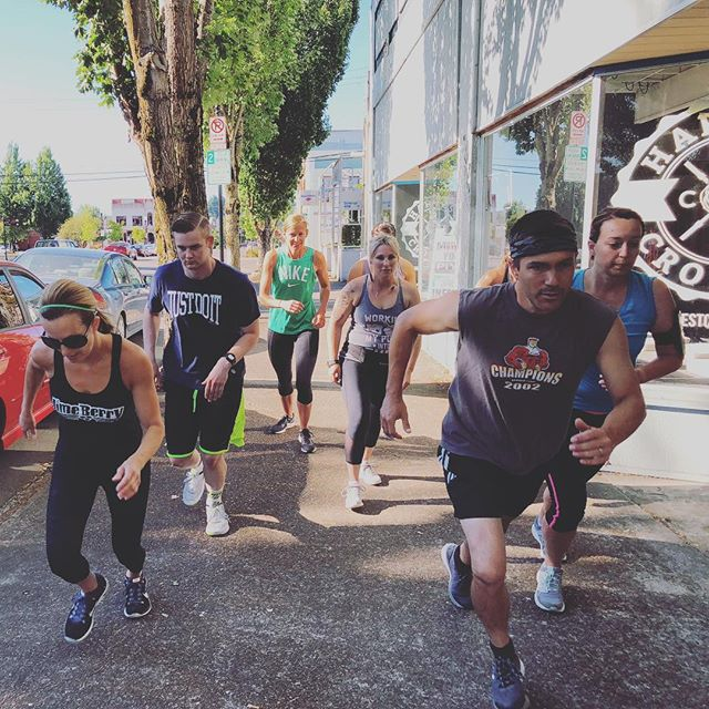 Saturday Classes! Bring a friend or come in for your first time to 8am! 9am ROMWOD. 9:30am Members Only Partner WOD! #community #crossfit #dallasoregon #harvestcrossfit
