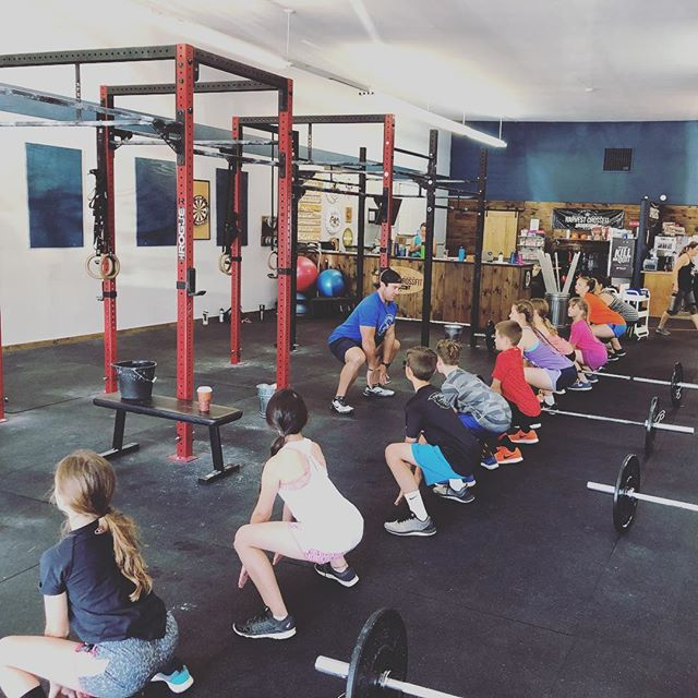 """Train up a child in the way he should go; even when he is old he will not depart from it."" Proverbs 22:6  #crossfitkids #crossfit #community #dallasoregon #harvestcrossfit #dallasoregongym"