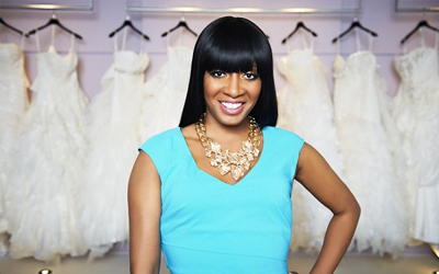 KEASHA'S PERFECT DRESS With a passion for fashion and her trademark sass, Keasha Rigsby, renowned bridal consultant from Kleinfeld, is beginning an exciting new chapter in her career.