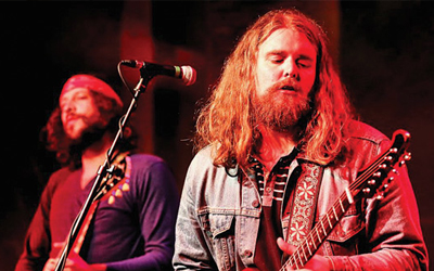 THE SHEEPDOGS HAVE AT IT A feature documentary about the rise from obscurity of Canadian rock band THE SHEEPDOGS to the cover of Rolling Stone Magazine, and through the recording of their next - and most important - album.