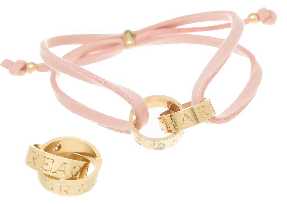 kerry gilligan double ring namesake bracelet