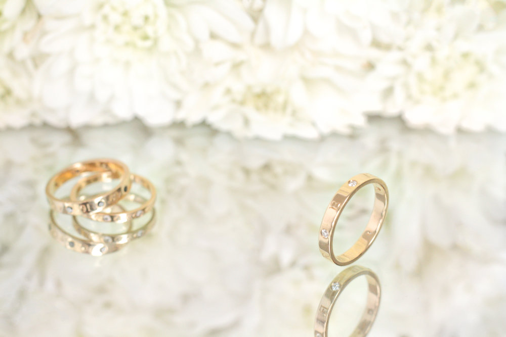 custom rings by kerry gilligan in 14k yellow gold coordinates namesake and stacker.jpg