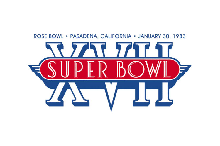 Pasadena, CA | Rose Bowl | 1983 | Washington Redskins defeat Miami Dolphins