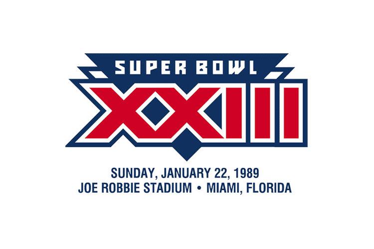 Miami, FL | Joe Robbie Stadium | 1989 | San Francisco 49ers defeat Cincinnati Bengals