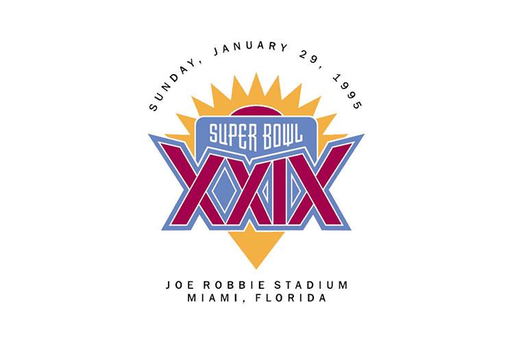 Miami, FL | Joe Robbie Stadium | 1995 | San Francisco 49ers defeat San Diego Chargers