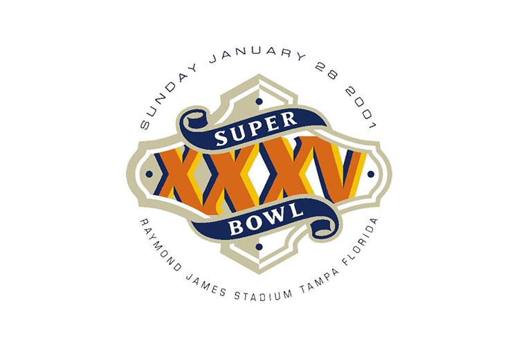 Tampa Bay, FL | Raymond James Stadium | 2001 | Baltimore Ravens defeat New York Giants