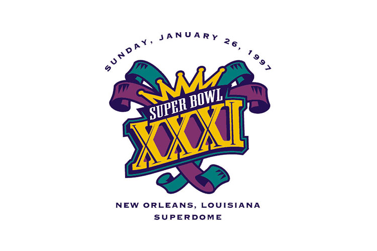 New Orleans, LA | Superdome | 1997 | Green Bay Packers defeat New England Patriots