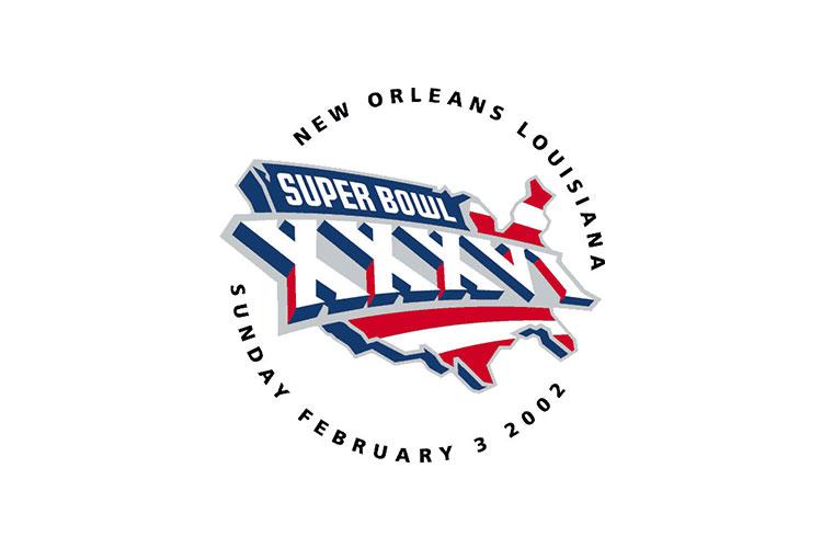 New Orleans, LA | Superdome | 2002 | New England Patriots defeat St. Louis Rams