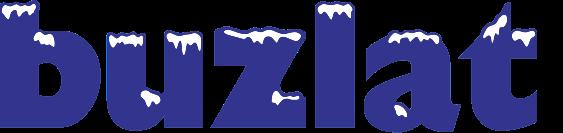 buzlat logo white snow.png