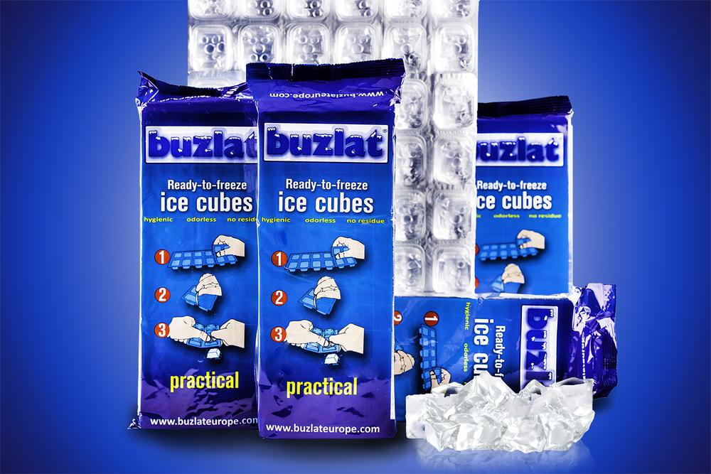 Buzlat - Ready to Freeze Ice Cubes
