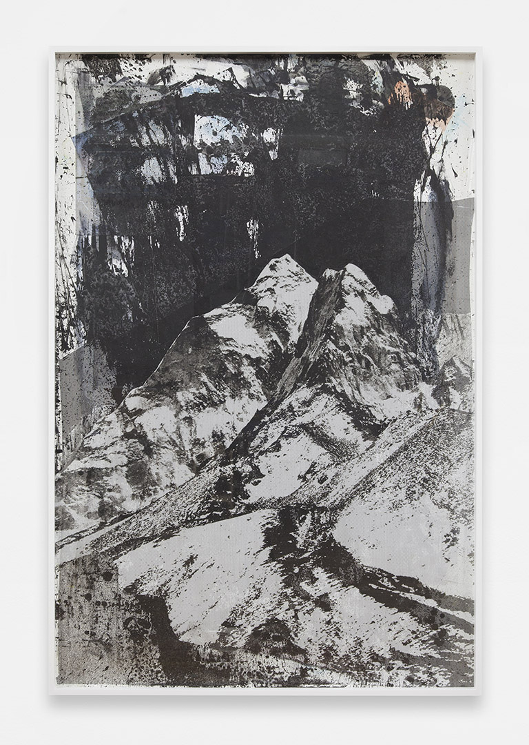 The Mountain Chrome<br>4' x 6'<br>2014