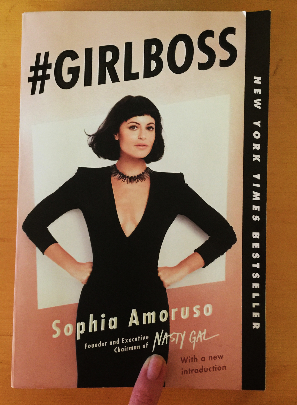 Girl Boss: A Book for Badass Chicks Making Shit Happen.