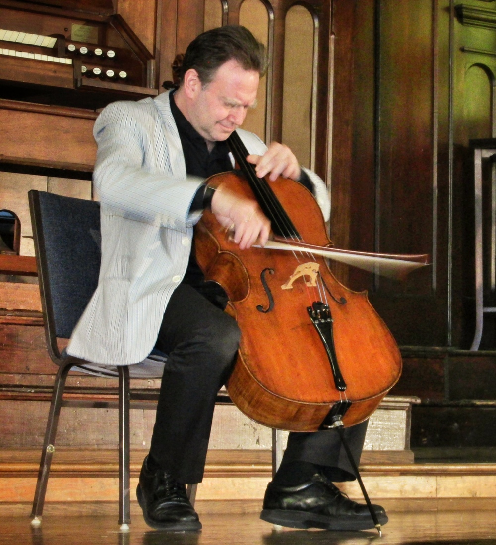 Honigberg at Dumbarton Concerts