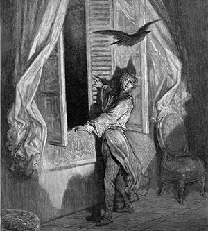 """""""Not the least obeisance made he"""", as illustrated by Gustave Doré (1884)"""