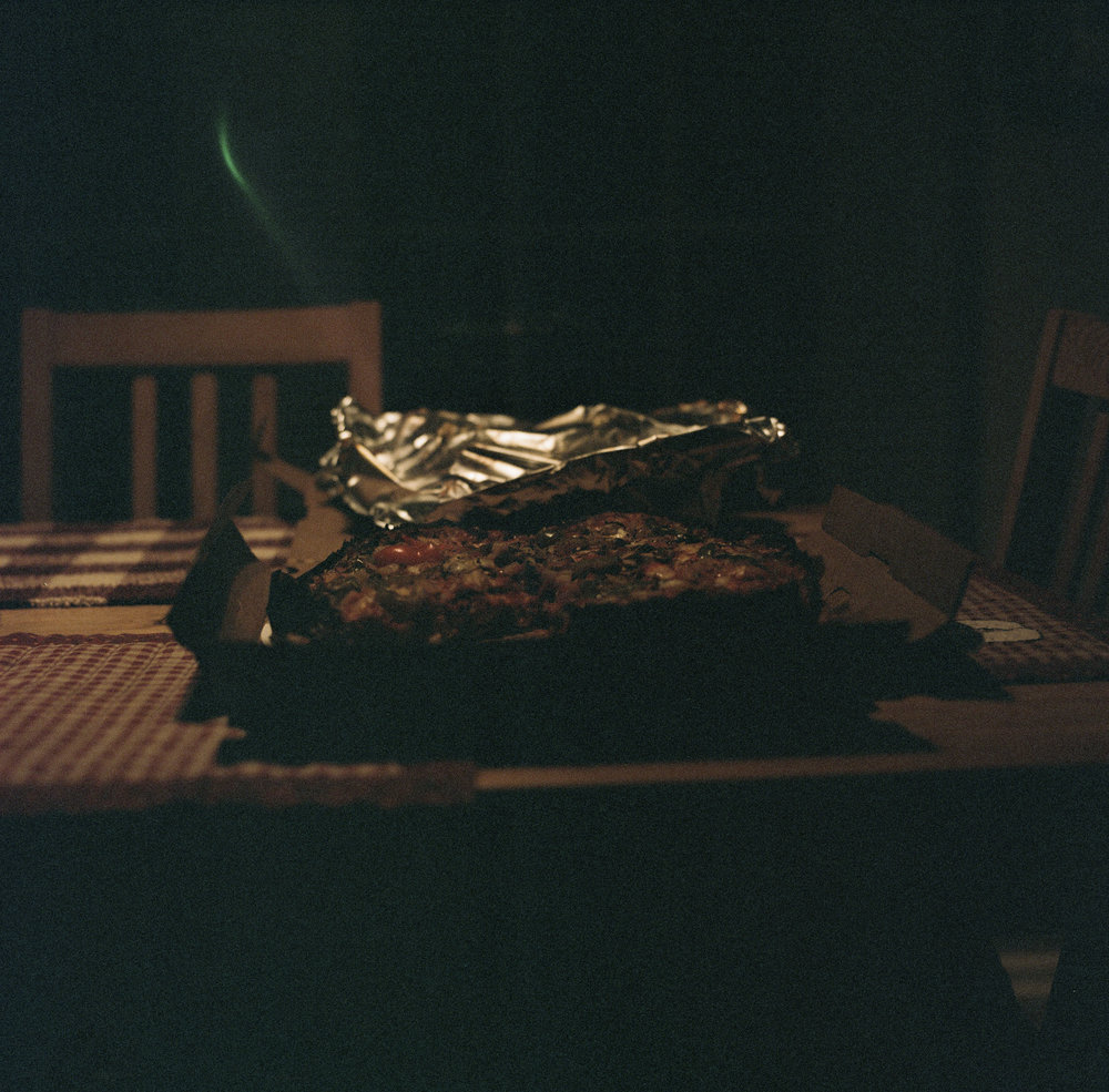 My first Film shot with the hasselblad. Yes thats a pizza