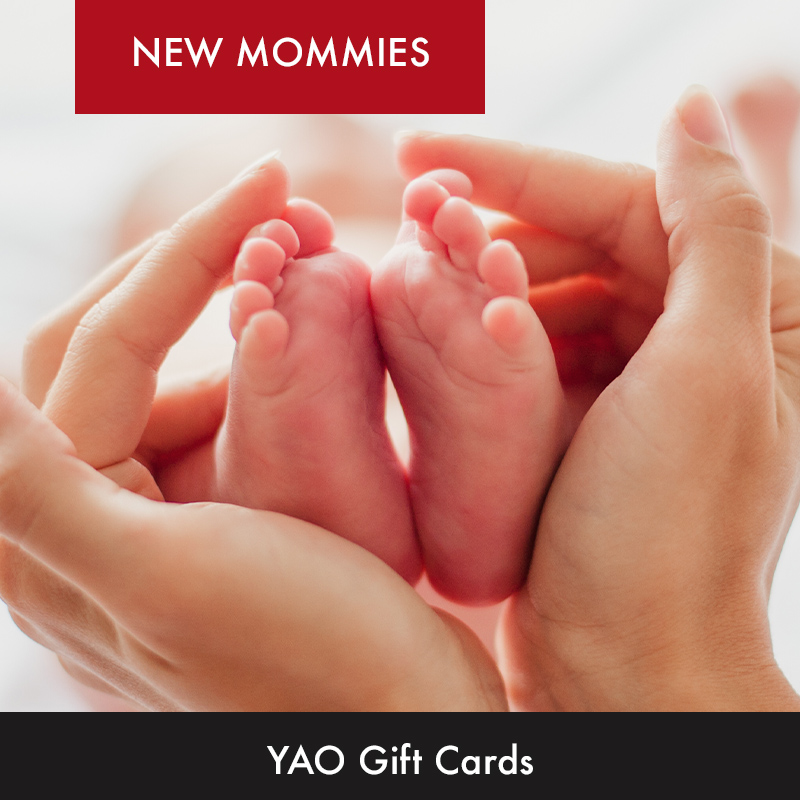 PURCHASE YAO NEW MOMMY PACKAGE GIFT CARD HERE!