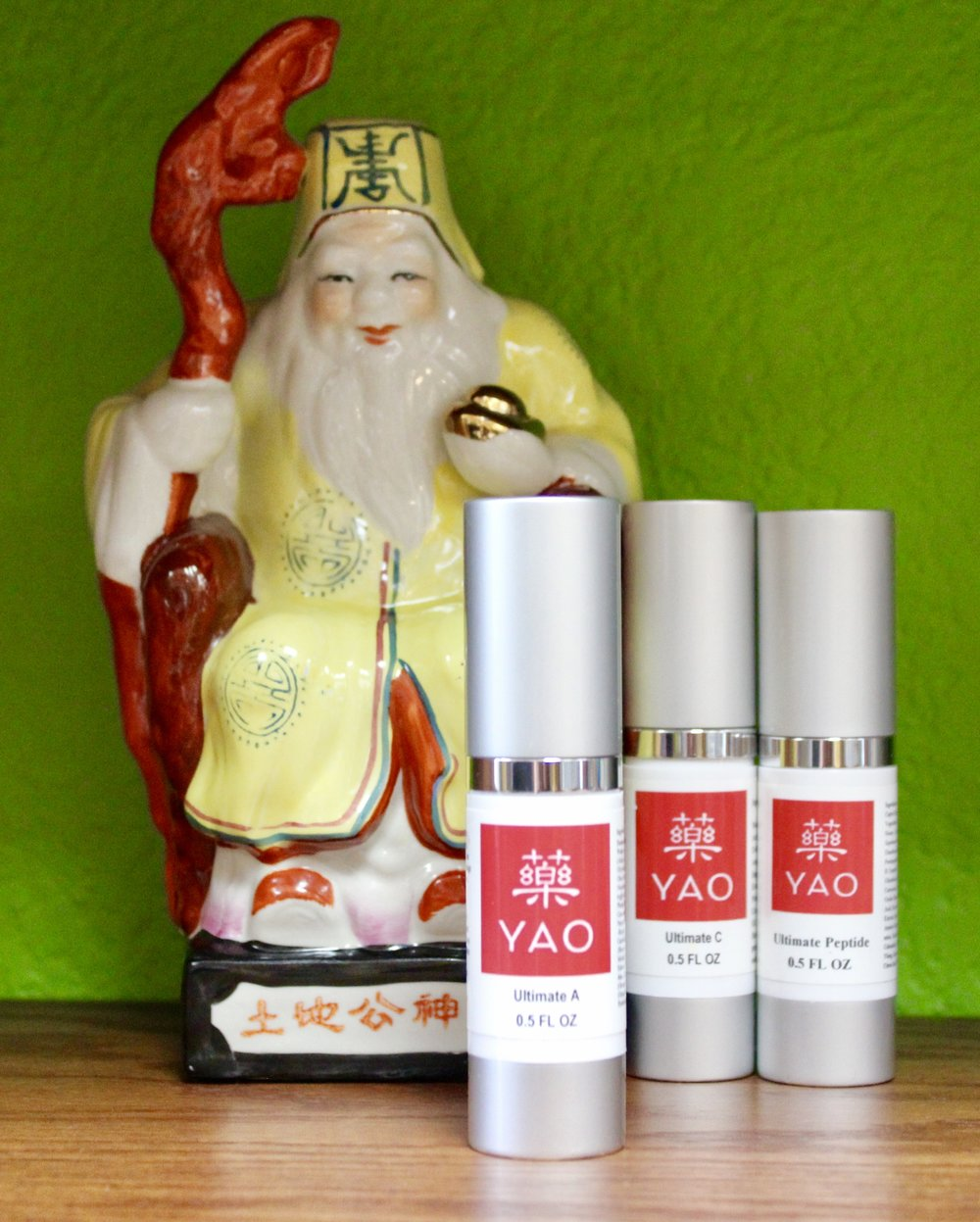 A thousand years old and not one line on his face…his secret is the Palace Treasures Trio.