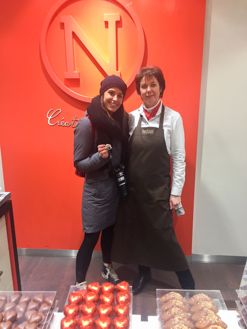 anne, our bff from nehaus chocolate