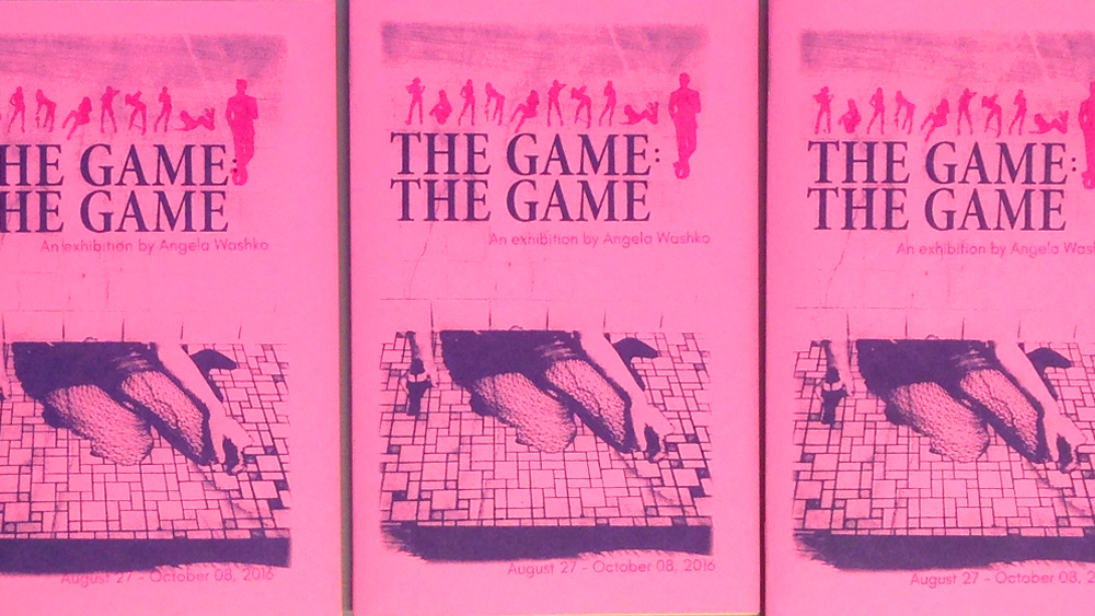 The Game: The Game Catalog - Angela Washco