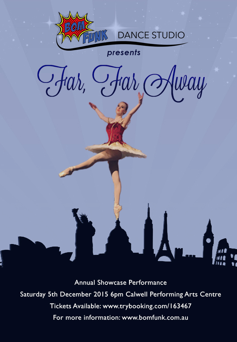 Far, Far Away: Bom Funk 2015 DVD ~ $30 Pick up Only