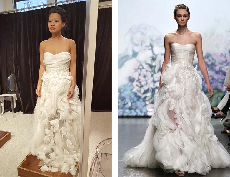 Monique Lhuillier Bouquet Gown