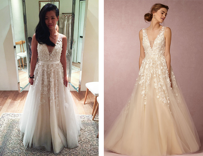 Wedding Dress Search: The gowns that were almost The One — Jess Tom