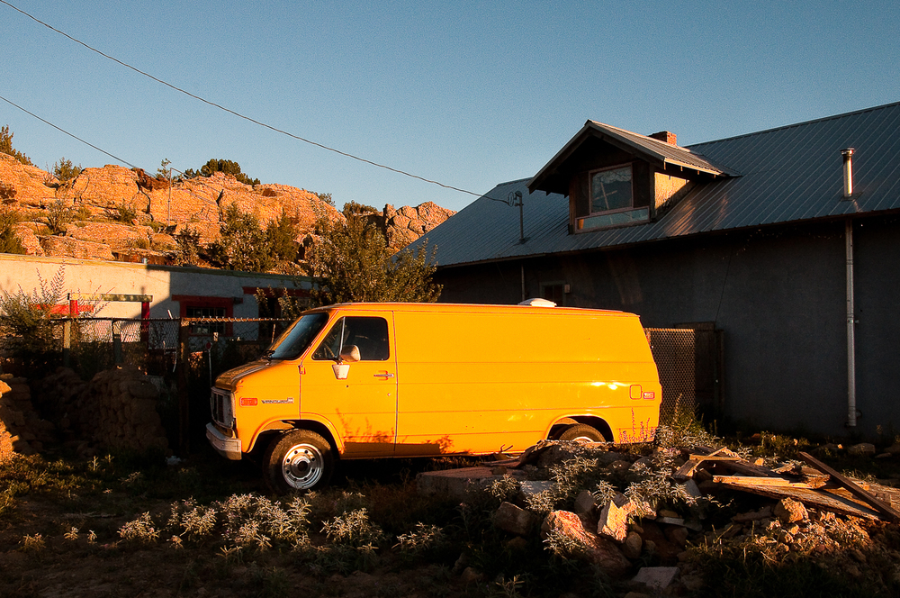 Yellow Van,   Cubero, NM