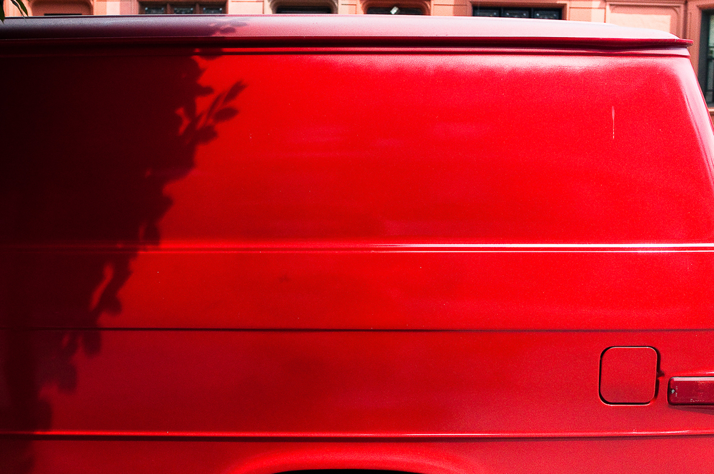 Red Van Detail  ,   Crown Heights, Brooklyn, NY