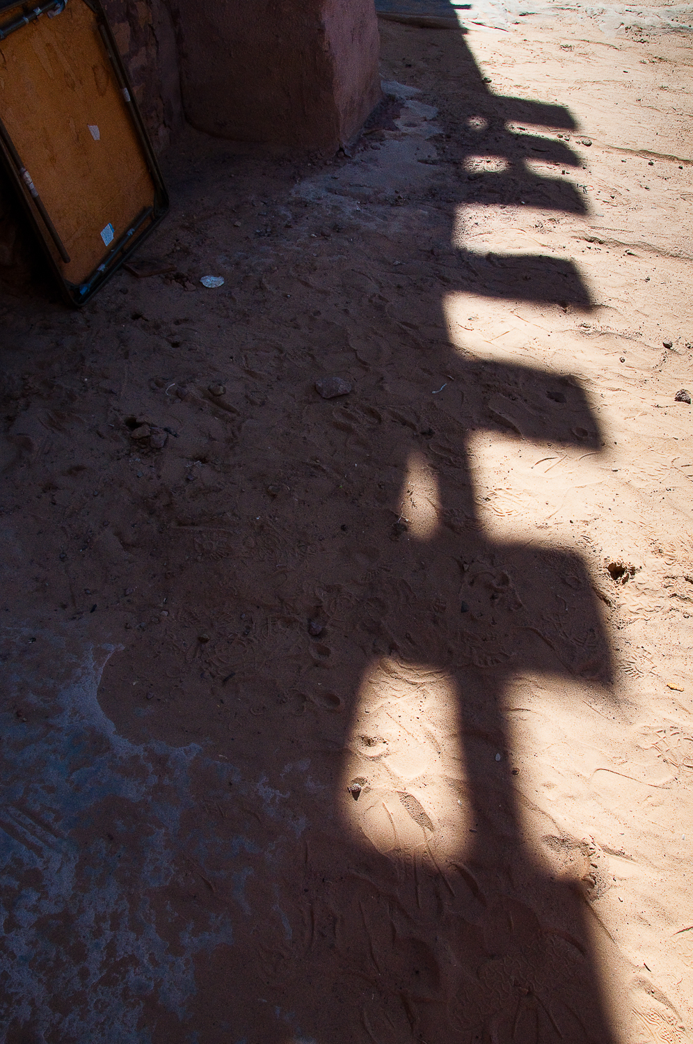 Wood Beam Shadows  , Acoma Pueblo, NM