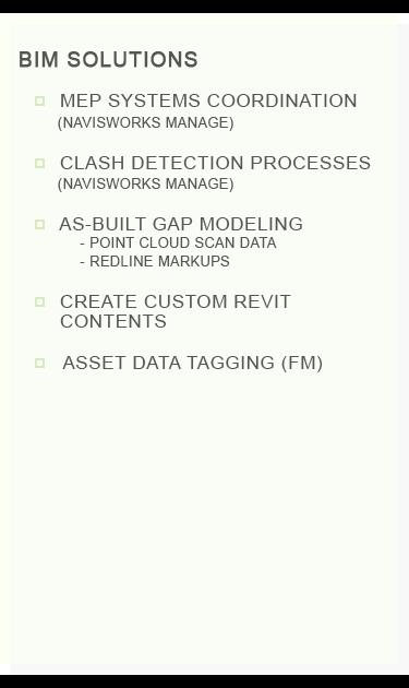 BIM Solutions