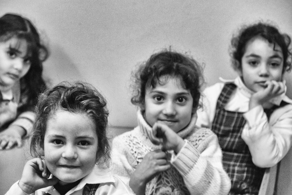 Kindergarten students in Nablus