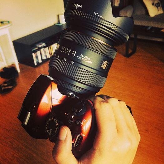 Sigma 24-70mm Lens