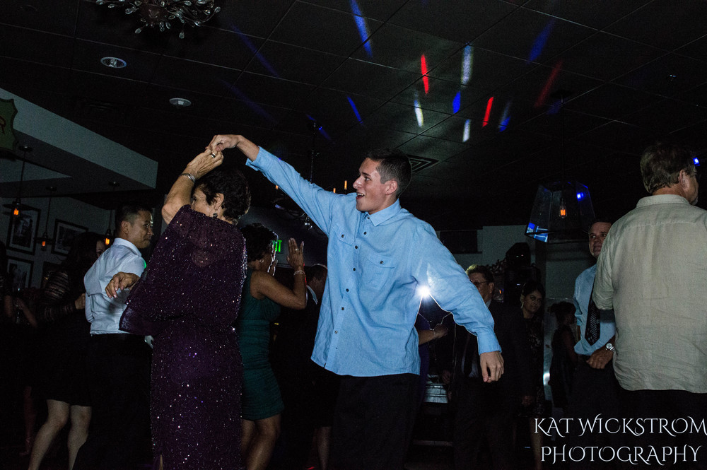 Woodland Hills Cafe Fiore Wedding Reception Dancing