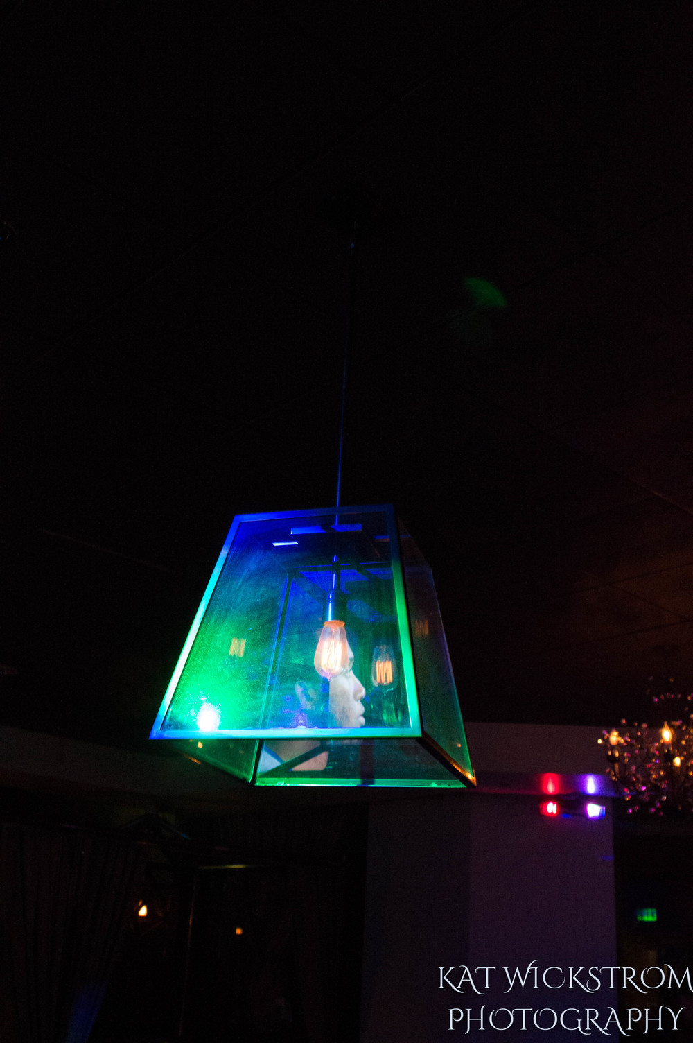 Woodland Hills Cafe Fiore Wedding Reception DJ Lighting
