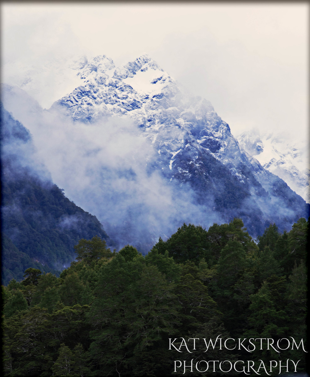New Zealand Outdoor Landscape Mountain Travel Photo