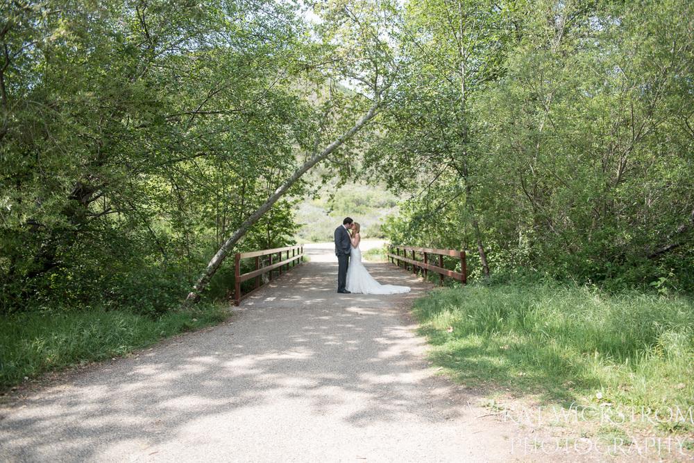 Solstice Canyon Malibu Wedding Portrait Bride and Groom Romantic Rustic Natural Photo