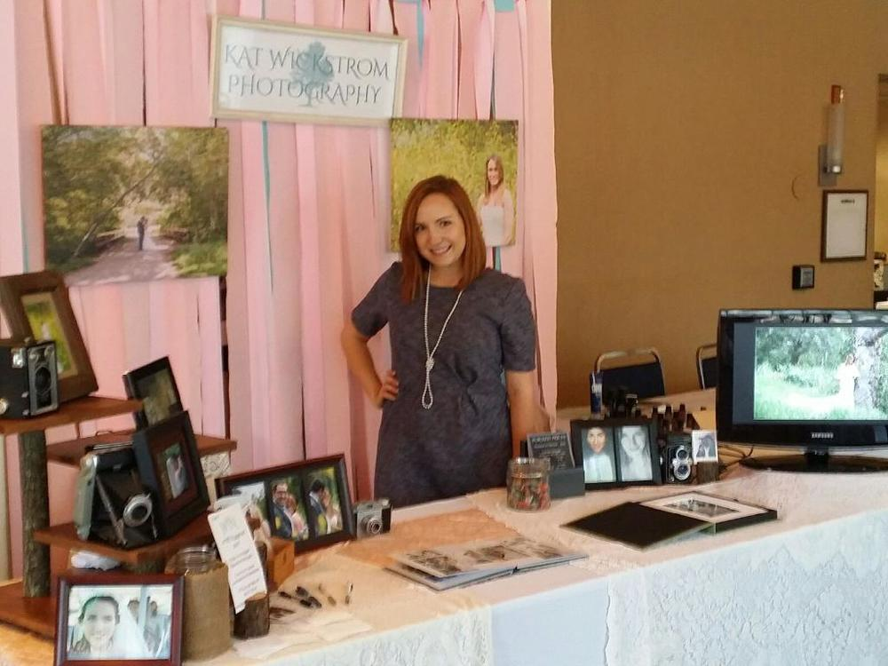 wedding expo photographer booth