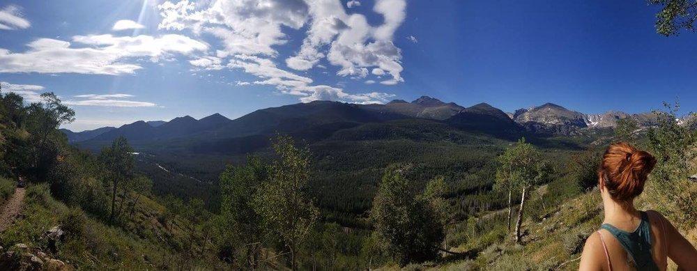 Rocky Mountain Nation Park Panorama - Taken by Josh