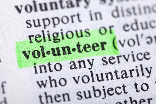 What does volunteering mean to you?