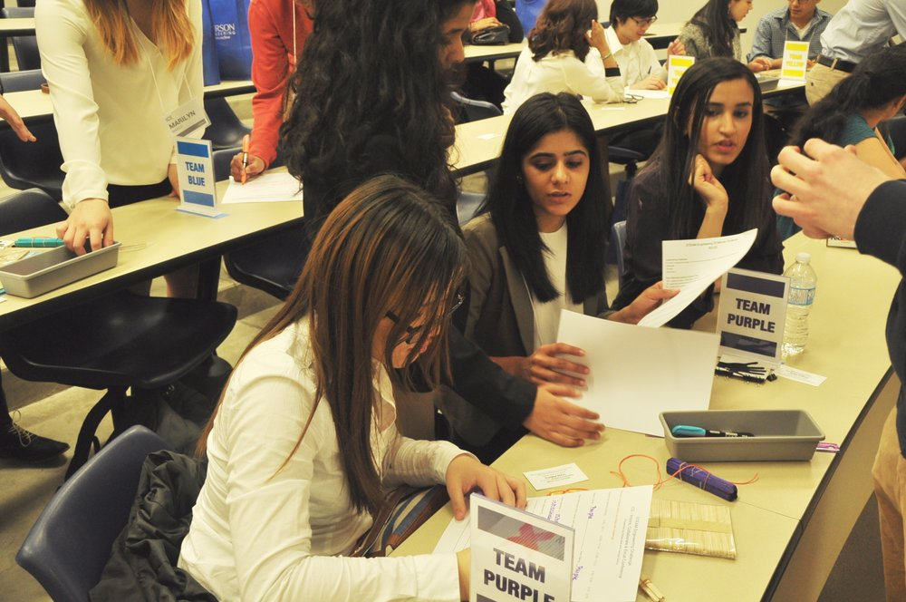 Workshops on critical thinking and creative problem solving help prepare students for the futures they face.