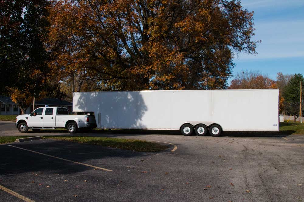 Gateway Percussion's Equipment Trailer