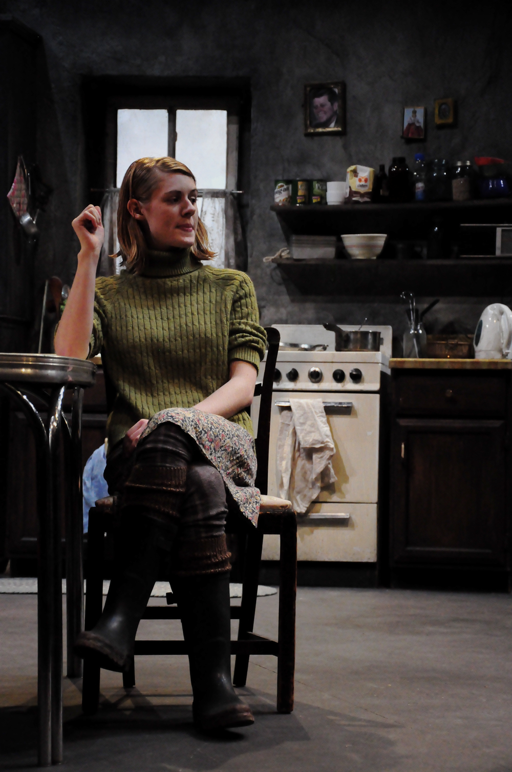 As Maureen in The Beauty Queen of Leenane   at Northwestern University