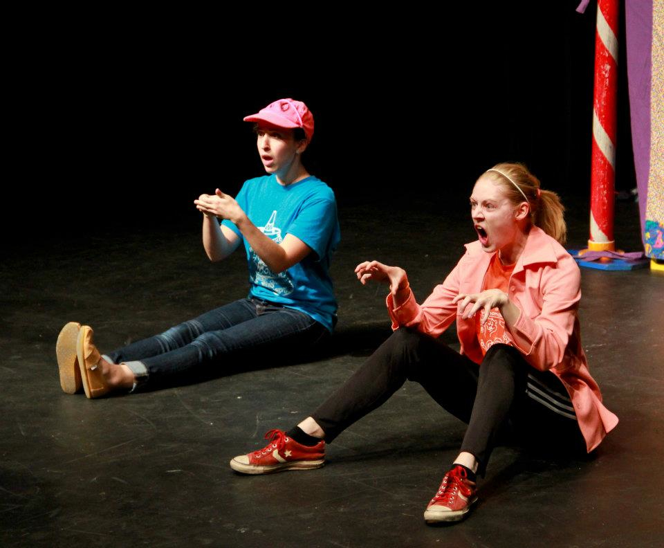 Performing with Griffin's Tale. Photo credit:  Justin Barbin .