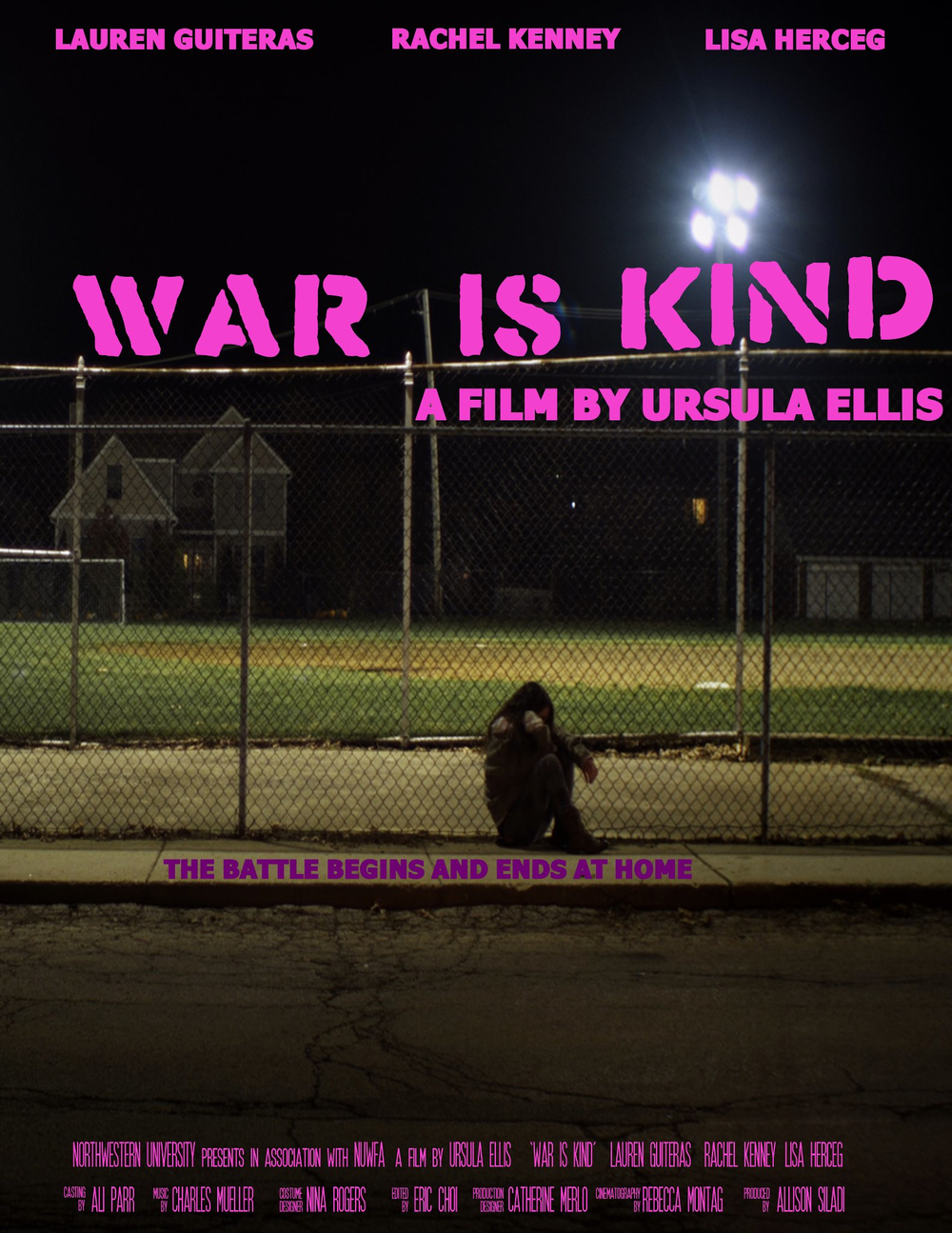 Promotional poster for War is Kind