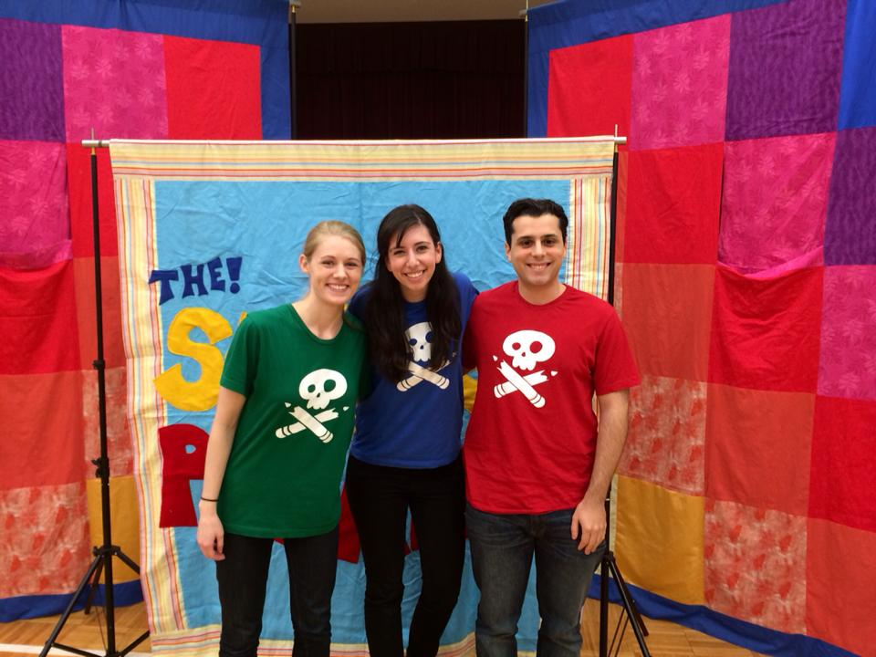 Performing with The Story Pirates