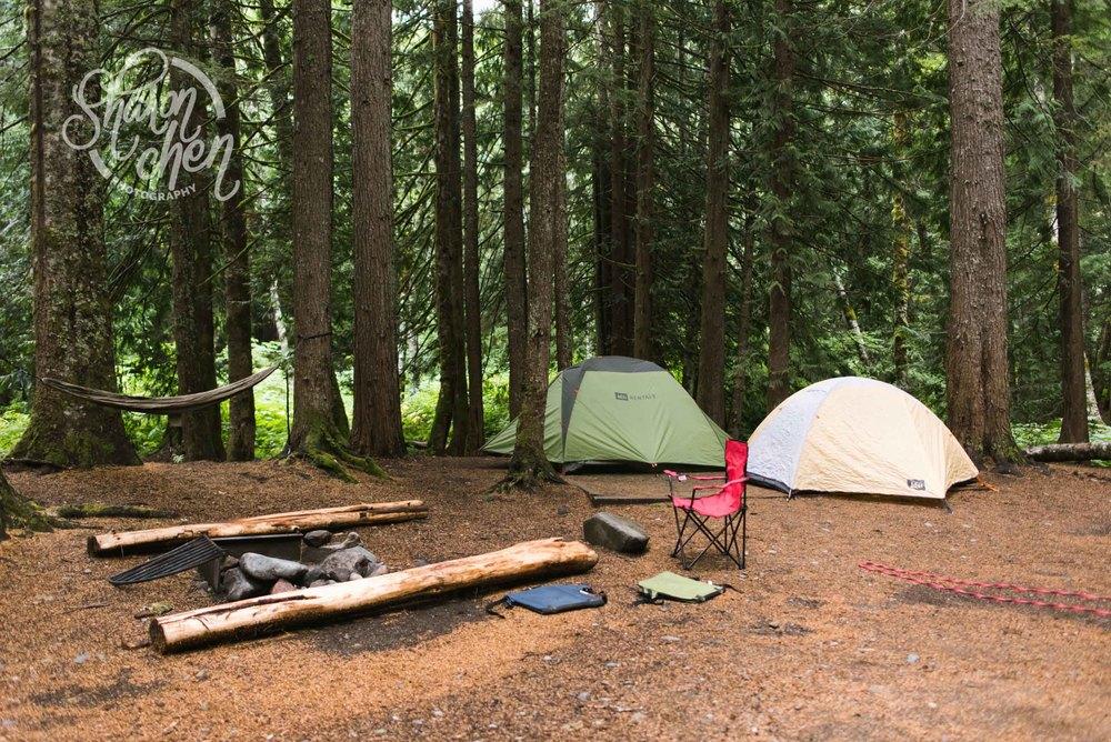 Campsite all set up!