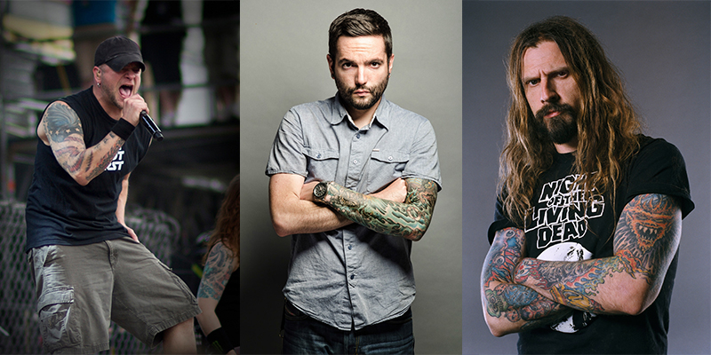 Phil Labonte (All That Remains), Jeremy McKinnon (A Day to Remember), and Rob Zombie