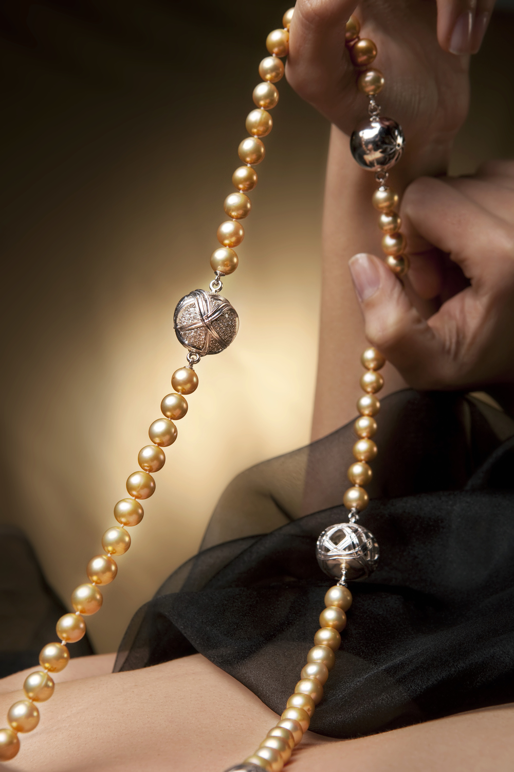 Paja Pearl Necklace