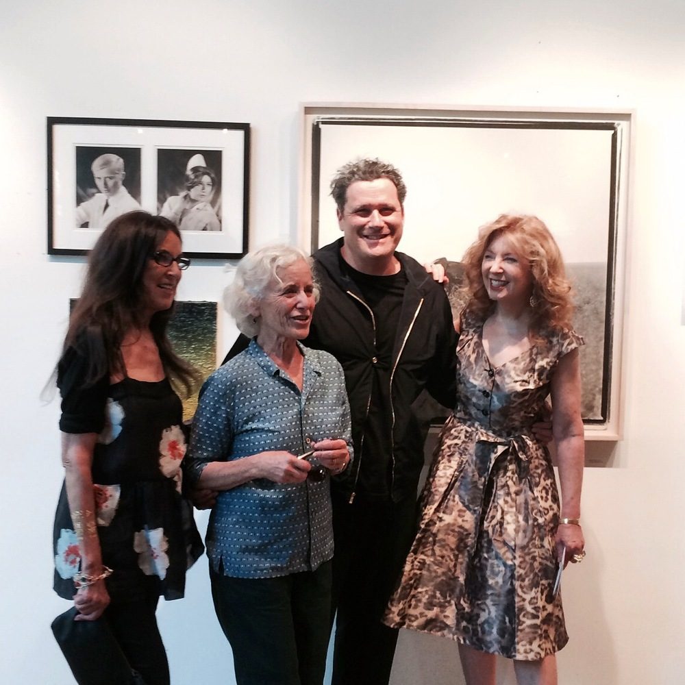 Isaac Mizrahi with the artist April Gornik.
